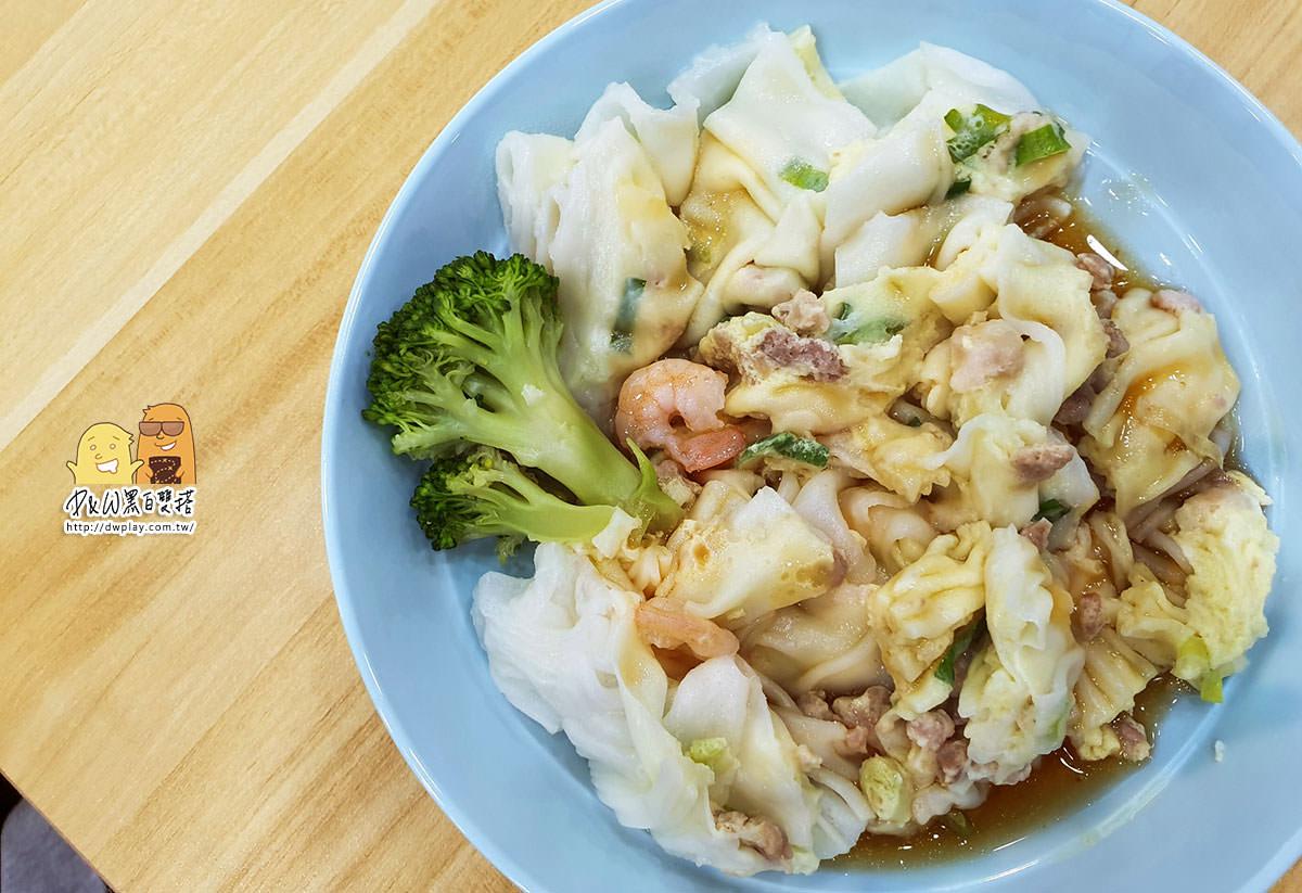 新莊港式料理『龍袍加身腸粉』!偏厚腸粉醬稍甜,豆漿好喝跟丼飯大碗,想吃港式不想跑遠可試試。(菜單價錢)