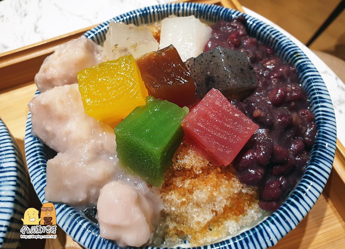 中山區七彩粉粿現身『覓糖黑糖粉粿』繽紛上市!台北人氣甜點好吃推薦!又多一家台北特色冰店拉(菜單價錢)