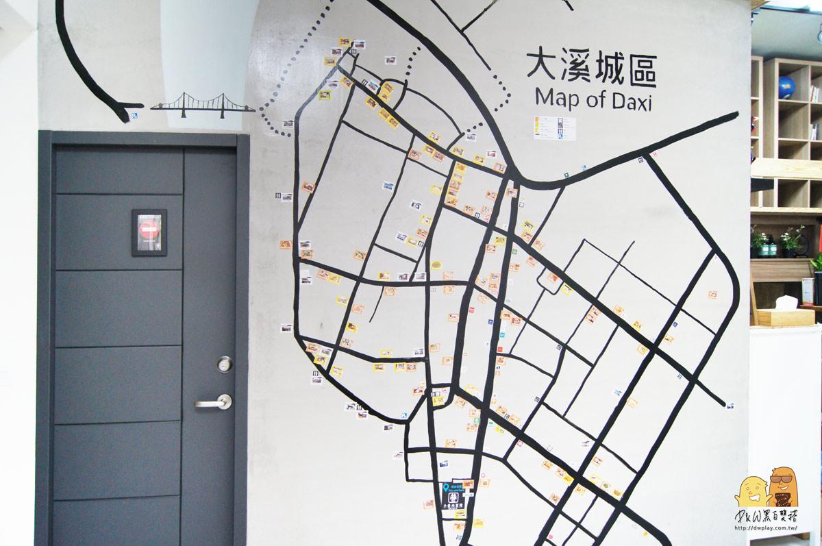 大溪景點地圖